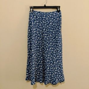 Rails Skirts - Rails London blue daisies skirt